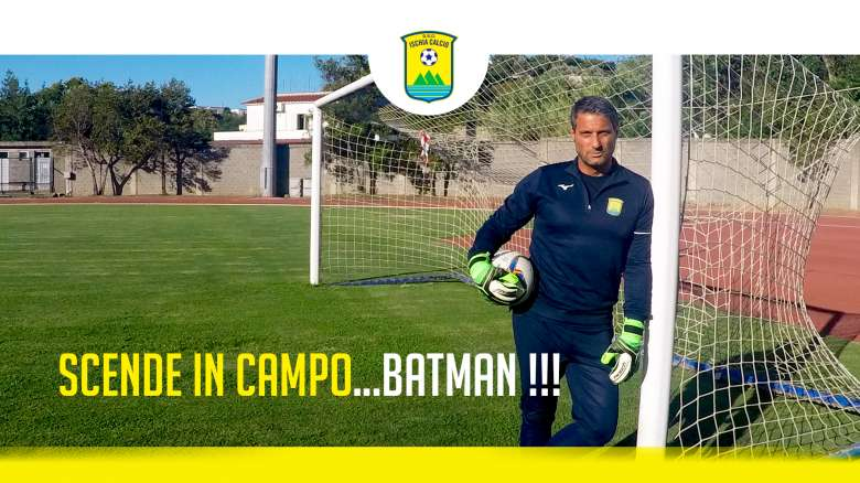 SCENDE IN CAMPO…BATMAN !!!
